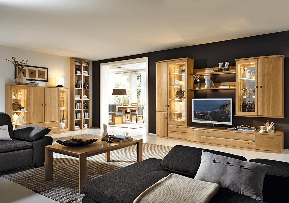 rietberger mw wohnwand. Black Bedroom Furniture Sets. Home Design Ideas