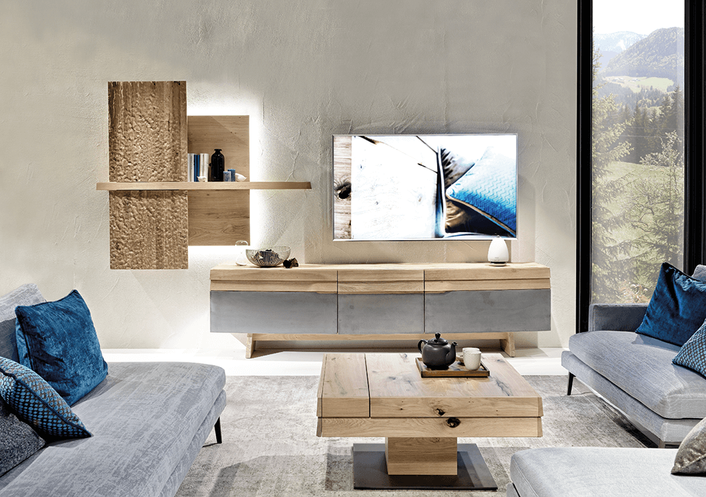voglauer wohnwand. Black Bedroom Furniture Sets. Home Design Ideas